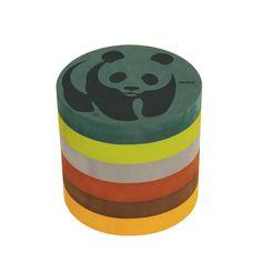 bObles Panda Skammel Mellem - til fordel for WWF