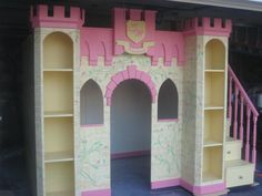 Children's Furniture Princess Castle Bed by Allstarsports on Etsy, $5,000.00
