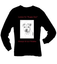 long sleeve justice for puppy doe