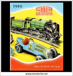 Mettoy Catalogue 1949 - Front Cover. Photo in DOCKERILLS - TIN TOY REFERENCE - GREAT BRITAIN - Google Photos