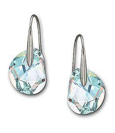 Swarovski Galet Crystal Earrings #Dillards