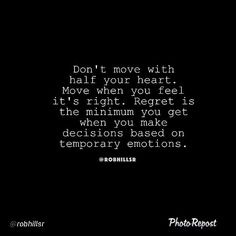 use your full heart