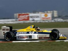 #5 Thierry Boutsen...Canon Williams Team...Williams FW12C...Motor Renault RS1 V10 3.5...GP Brasil 1989