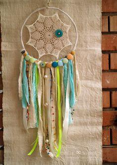 Lace Dream CatcherVintage/Boho Ivory/Beige by MyFlowerAccessories