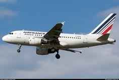 F-GUGC Air France Airbus A318-111