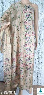 Silk Dupatta, Lining Fabric, Salwar Suits, Silk Top, Stitch Patterns, Kimono Top, Cod, Free, Dresses
