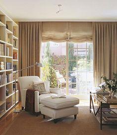 Hoy voy a la búsqueda del rincón ideal de lectura.