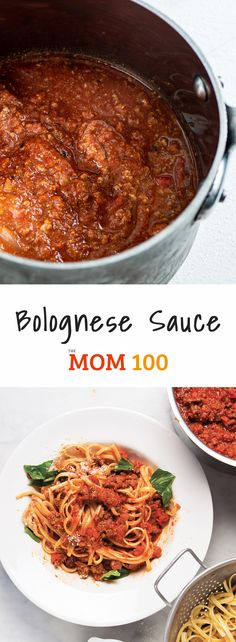 Bolognese Sauce Bolognese Sauce / A quick and easy weeknight version of traditional bolognese sauce. Double this recipe. Invite over a lot of people or freeze half. Bolognese Sauce Bolognese Sauce / A quick a Easy Bolognese Sauce Recipe, Pasta Formen, Skinny Pasta, Pasta Casserole, Italian Pasta, Italian Dinners, Italian Recipes, Pasta Shapes, Pasta Recipes
