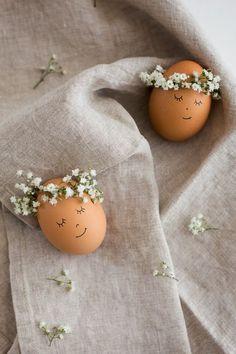оригинальные яйца на Пасху своими руками