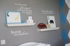 boy nursery | boys-nursery-room-design