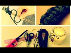 DIY: Paracord Bracelet using just ribbon or pretty cord that isn't for out doors is a good idea too