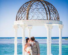 Gorgeous wedding Location at Sandals Royal Caribbean Royal Caribbean Wedding, Destination Weddings, Real Weddings, Wedding Blog, Wedding Photos, Jamaican Wedding, Island Weddings, Beautiful Couple, Wedding Locations