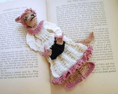 wolf in grandma's clothing bookmark pattern on Craftsy.com