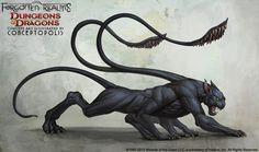 Displacer Beast (Monster) by Conceptopolis.deviantart.com on @deviantART
