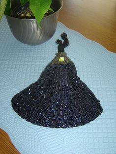 Victorian Era Beaded Evening Purse/Bag-Late 1800's.  140 Years Old, not bad for an old bag! on Etsy, $65.00