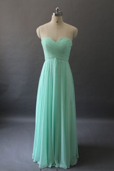 Custom Make Bridesmaid Dress  Long Bridesmaid Dress by DressSister, $119.99