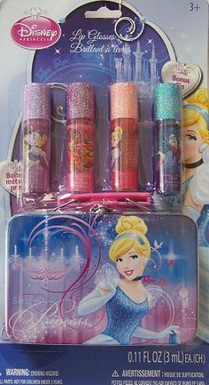 Disney Princess Cinderella Set of Four Lip Glosses with Case by Townley, Inc.. $18.99. Ages 3+
