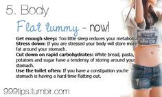 flat tummy tips Flat Tummy Tips, Love Handles, How To Get Sleep, Body Sculpting, Fit Motivation, I Work Out, Get Healthy, Healthy Foods, Fitness Nutrition