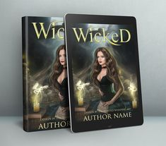 Dark Witch premade cover design for Indie or self publishing authors Dark Witch, Premade Book Covers, Self Publishing, Cover Design, Authors, Indie, Prints, Art, Art Background
