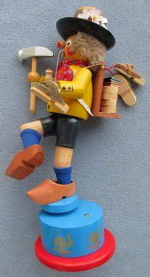 Steinbach Wooden German Smoker Cobbler Musical Parts or Repair | eBay