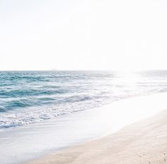beach, ocean, and sunset afbeelding