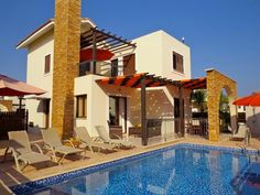3 Bedroom Villa in Ayia Napa to rent from £610 pw, with a private pool. Also with wheelchair access, balcony/terrace, air con, TV and DVD.