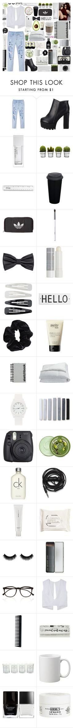 """☾; ""people talk to me, and all the voices just burn holes"""" by the-forgotten-wolf ❤ liked on Polyvore featuring NARS Cosmetics, Billabong, adidas Originals, Obsessive Compulsive Cosmetics, H&M, Korres, Forever 21, Rosanna, American Apparel and philosophy"