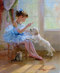 Ballerina Painting, Ballerina Art, Ballet Art, Ballet Images, Dance Paintings, Dance Art, Dance Photography, Vintage Art, Painting & Drawing