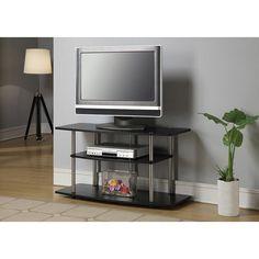 glass-and-metal-tv-stand-walmart.jpg (1000×1000)