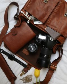 """""""A beautiful @onabags camera bag for a lady on the go """"- @whitneyharperlee"""