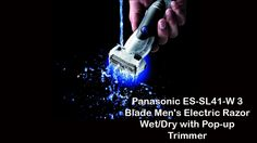Panasonic Electric Trimmer|ES-SL41-W Electric Pop up. View and read more on http://youtu.be/ARH5W68upBs