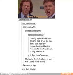 Supernatural funny - bloopers - dean & Sam Winchester - Jensen Ackles, Jared…