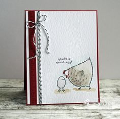 A Good Egg by Amy O'Neill using Stampin' Up's Hey, Chick stamp set.  #stampinup #heychick #FMS269