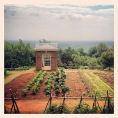 Monticello President Thomas Jefferson Home Charlottesville Virginia Garden IMG_9685, via Flickr.