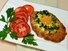Шницели с яйцом / Рецепты с фото