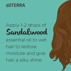 Sandalwood essential oil is very beneficial to the skin and hair and can help promote a healthy, smooth complexion.