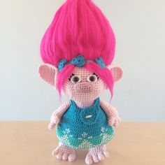 *************************************************************************** This listing is for a PDF PATTERN (English) and not the finished troll. ***************************************************************************  Crochet your very own Princess Poppy from the movie Trolls. The pattern includes instructions on how to crochet Poppy, her dress and her headband with flowers. Basic crochet skills are needed. The flowers are done using triple crochet with a link to a Youtube video for…