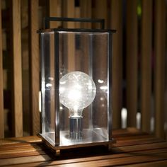 Ikon S lantern polished chrome   Nahoor   outdoor collection   outdoor light