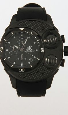 Adee Kaye Commando Collection Watch (Black) From Jack Threads