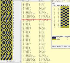 Diseño 16 tarjetas, 2 colores, repite dibujo cada 32 movimientos  // sed_21 ༺❁