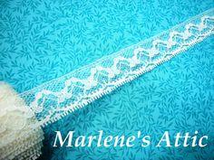 1 yard of 1 inch White Seam Binding hem tape by MarlenesAttic, $1.00