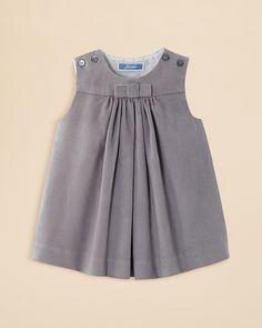 Jacadi Infant Girls' Pleated Corduroy Dress - Sizes 3-12 Months | Bloomingdale's