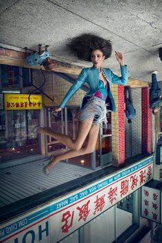 Upside-Down Chinatown Editorials