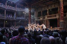 A Midsummer Night's dream Yohangza Theatre Company, Seoul Performed in Korean (C) John Haynes. At Shakespeare's Globe, London.