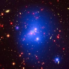 New Study Confirms the Ideas About Galaxy Cluster Evolution  A new millimeter wavelength study of massive clusters from the Harvard-Smithsonian Center for Astrophysics has found good agreement with current ideas about galaxy cluster evolution. Galaxy clusters have long been recognized as important laboratories for the study of galaxy formation and evolution. The advent of the new generation of millimeter and submillimeter wave survey telescopes, […]  The post  New Study Confirms the..