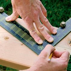 Building Skills: Carpentry Basics http://www.finehomebuilding.com/slideshow/carpentry-basics.aspx