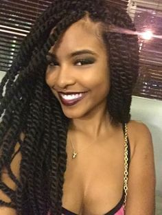 twisted braids and a smile