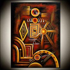 LARGE ARTWORK Abstract painting Oversized Modern Art Original Contemporary Art Deco Palette KNIFE Oversize canvas large artwork