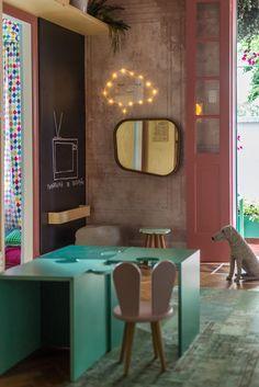 Ideias para decorar casa com crianças – Mostra Casa NaToca (Parte 1) Decor, Furniture, Room, Corner Desk, Home Decor, Baby Room, Desk