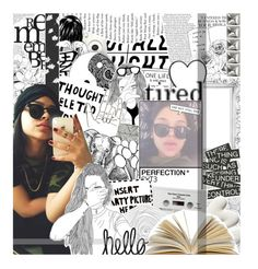 """""""—&. """"she loves to dreαm, living in αnd off αnd out her mind."""""""" by kurlyf-ri3z ❤ liked on Polyvore featuring art, htsofb and leonationaf"""